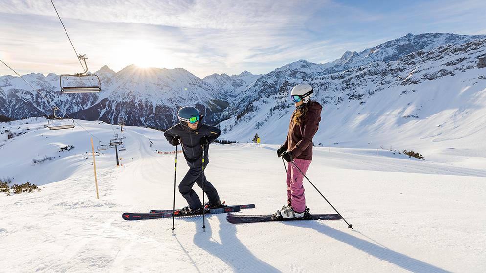 Skifahren im Brandnertal